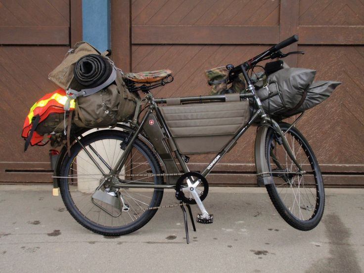 A Mountain Bike For Survival & Bugging Out