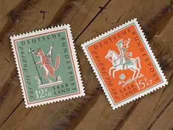 切手・STAMP 童話イラストの切手/ドイツ1958年