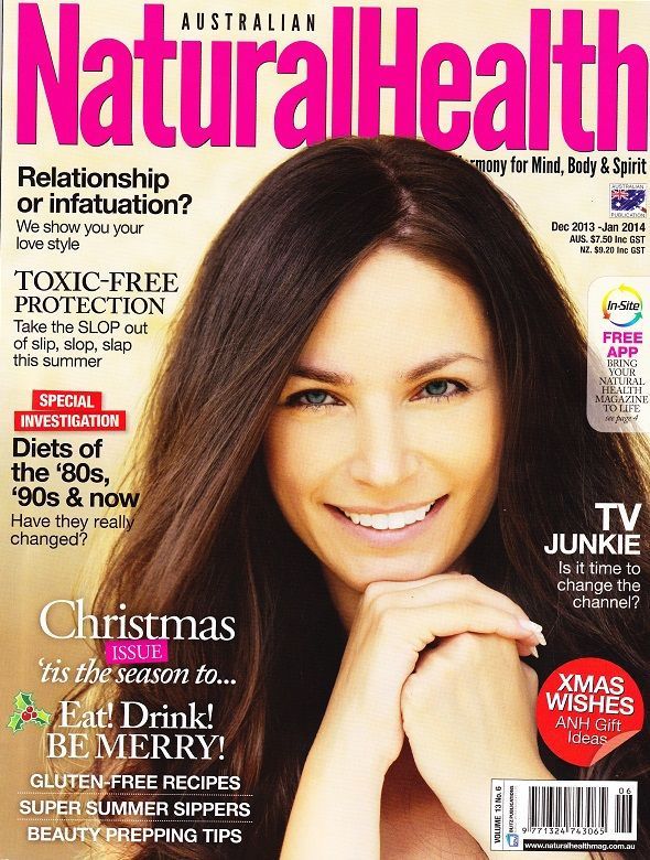 WOTNOT 30+ sunscreen was featured in the  November issue of Australian Natural Health!