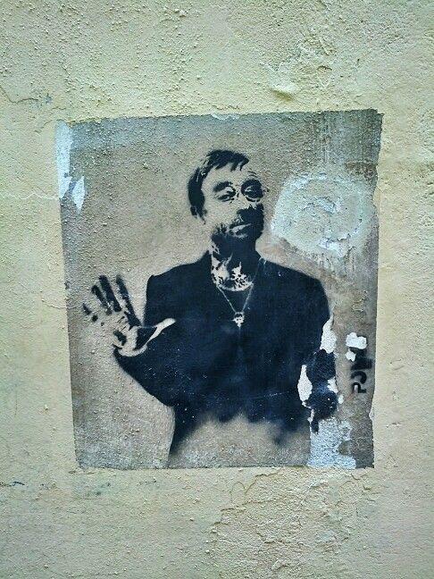 Graffito Lucio Dalla