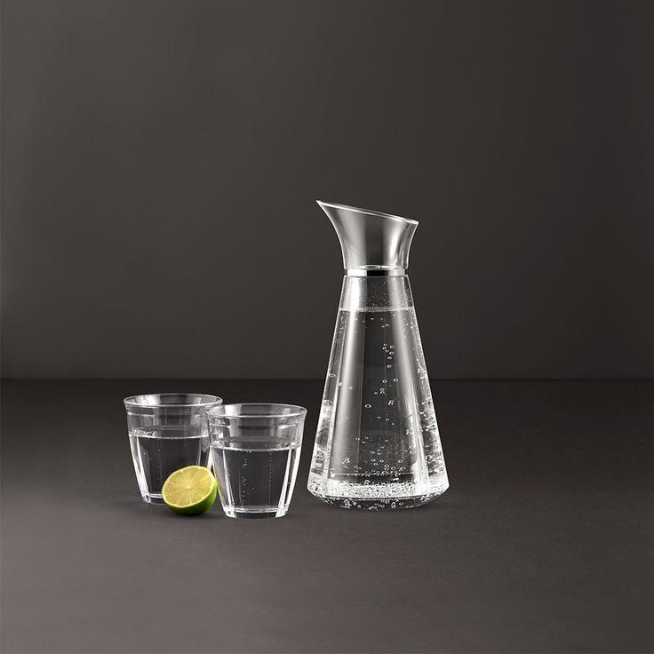 Karafka do wody 1L GRAND CRU Soft Glass - ROSENDAHL - DECO Salon. Carafe of water #giftidea #kitchenaccessories #design #scandinaviandesign