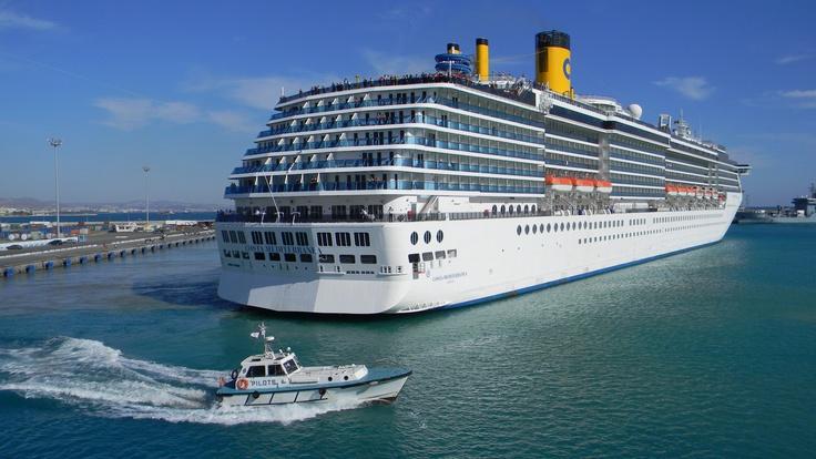 Cruise ship Costa Mediterranea 2005
