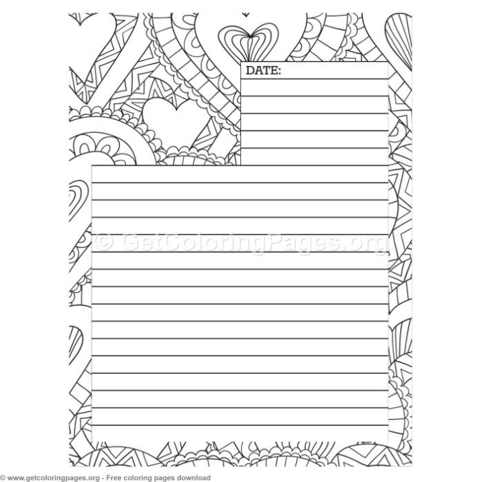 1 journal page coloring pages coloring coloringbook coloringpages. Black Bedroom Furniture Sets. Home Design Ideas