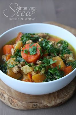 Nourish me lovingly: Winter veg stew (AIP)