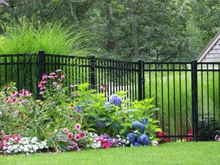 Ameristar Echelon Plus Decorative Aluminum Fence