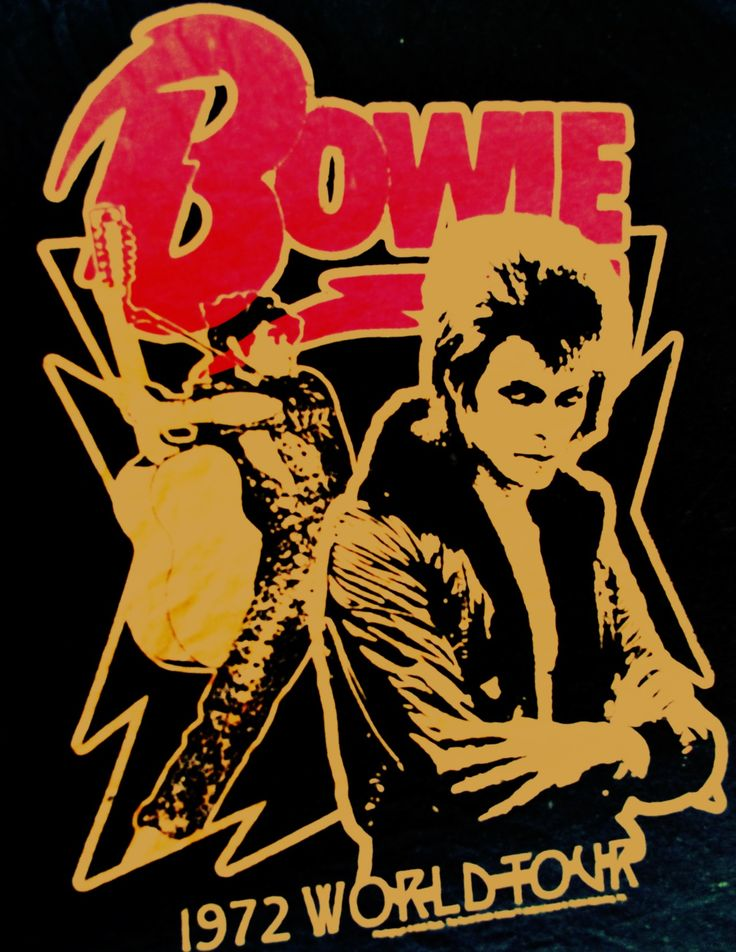 Bowie! Played with NIN and sang w/ Trent Reznor. <3