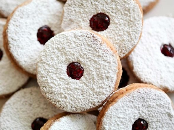 linzer cookies | Linzer Cookies Recipe | Devour The Blog: Cooking Channel's Recipe and ...