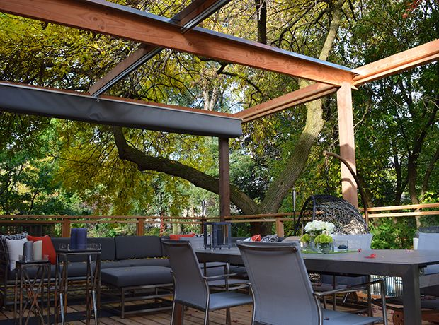 21 best images about pergola w retractable awning on for Retractable patio awning canopy