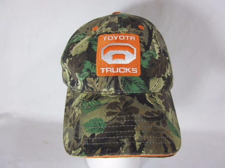 Toyota Trucks Camo Camoflauge Baseball Hat Cap Tundra Tacoma #Toyota #BaseballCap