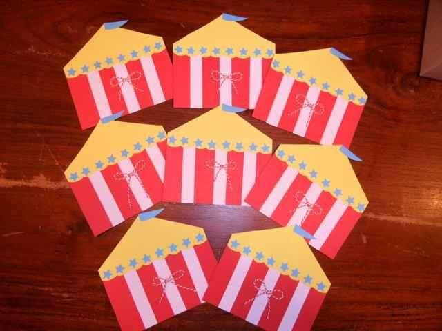 Circus uitnodigingen van Hippe Traktaties http://www.hipperdepip.com/uitnodiging/uitnodiging_hip/uitnodiging_circus