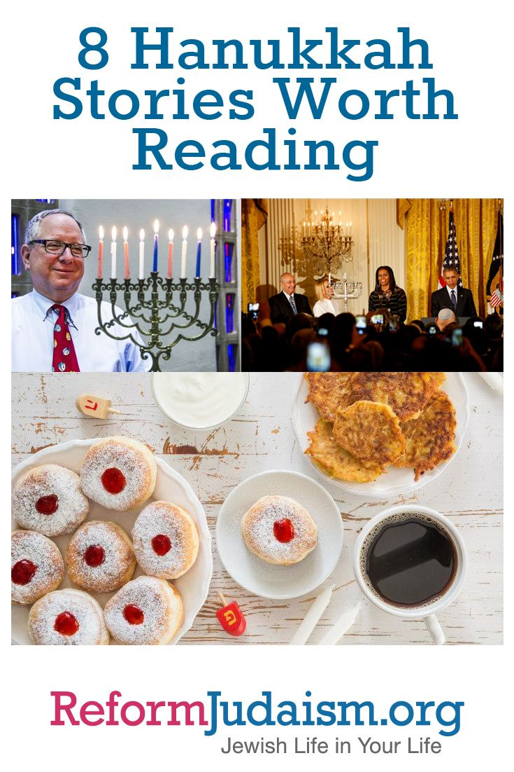 Hanukkah starts on Saturday, Dec. 24th, and as we look forward to yet another joyous Festival of Lights, here are eight recent, click-worthy, Hanukkah-related stories from across the web.