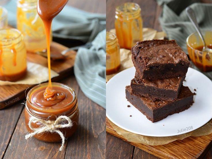 Делюсь рецептами вкусной домашней соленой карамели и очень шоколадного брауни с ней. Кто любит сочетание сладкого и соленого? Признавайтесь )) Соленая карамель…