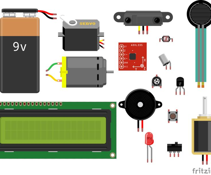 Arduino how to connect common sensors and items