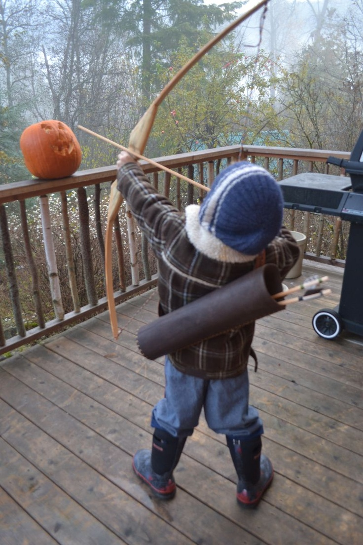 Bow And Quiver Tutorial (the Quiver, Not The Bow) For Ranger's Apprentice  Costume