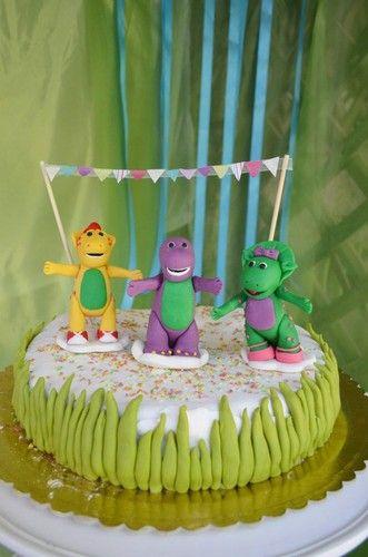 bolo de aniversário do barney - Pesquisa Google