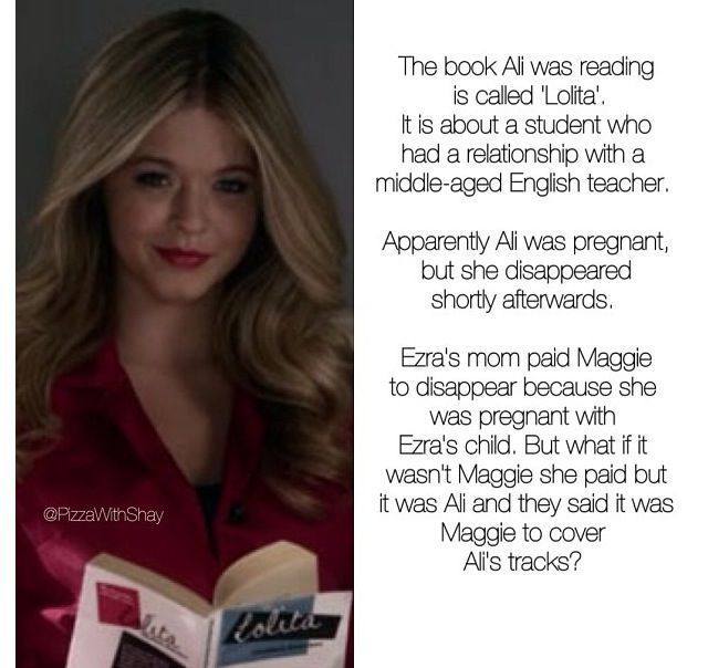 pretty little liars things theories - Google Search