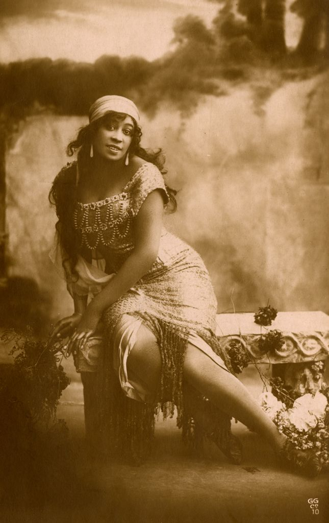 Saidie Sellyna, an actress, singer and dancer in a publicity photo, circa 1911 by an Unidentified photographer. I am doing my best to uncover more information about her. Photo: The Sullivan Family papers, Anacostia Community Museum Archives, Smithsonian Institution, gift of Savina Martin, Dominga Martin and Donna Akiba Sullivan Harper.  .