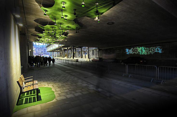 Urban Green | Ljusarkitektur – Ljusdesign |Lighting design – Stockholm, Sweden