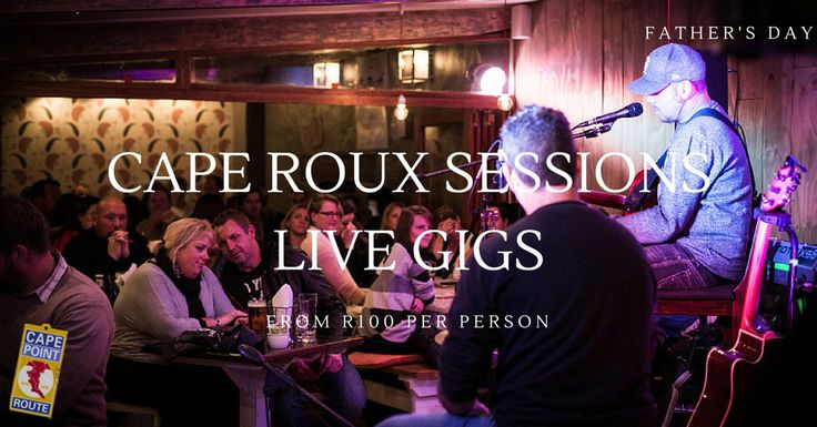 Cafe Roux Sessions: Book a live gig for you and your dad this Father's Day. There is nothing like bonding over music and we recommend one of the hottest venues in Cape Town for live music – the best of SA talent, in an intimate setting and a super cool vibe.  Cafe Roux hosts regular live music gigs with some show stopping legends on Father's Day Weekend.  Sat 18th sees the ever popular Ard Matthews perform and Sunday 19th June (Father's Day) is the crooner Craig Hinds!  Book early.