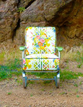 Vintage Furniture Redesigned eclectic chairs