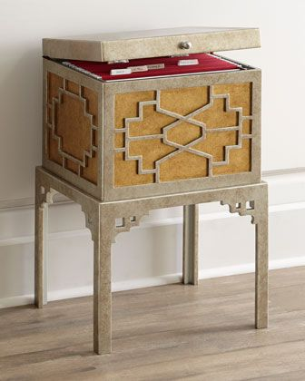 Fretwork+File+Box+by+NM+EXCLUSIVE+at+Neiman+Marcus.