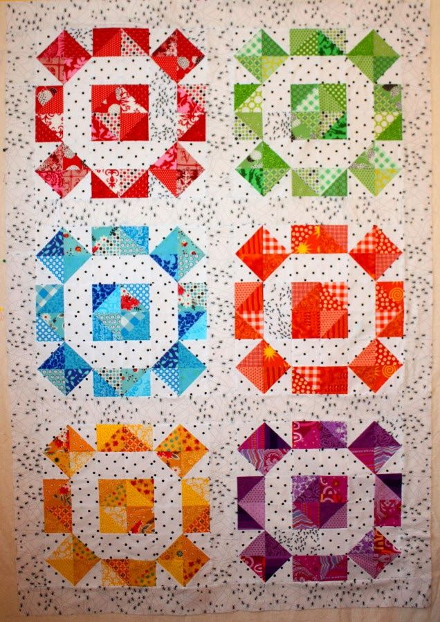 866 best RAINBOW QUILTS images on Pinterest | Rainbow quilt ... : patchwork and quilting blogs - Adamdwight.com