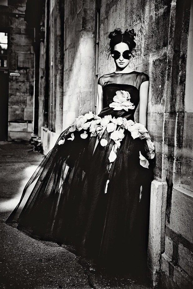 Nine d'Urso by Ellen von Unwerth for Madame Figaro August 2015