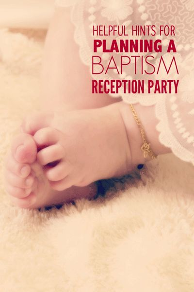 Helpful Hints for a Successful Baptism Party. A great resource of how to plan your upcoming Baptism Party