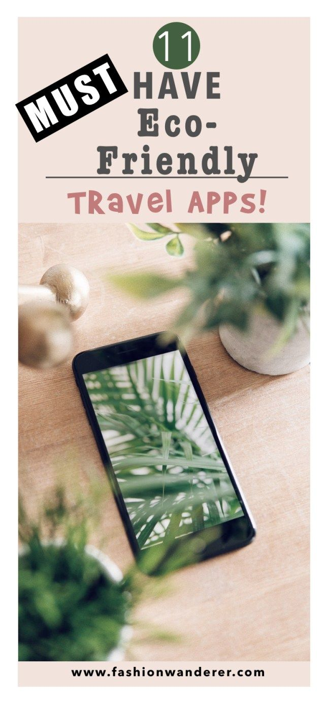 These 11 must have eco-friendly travel apps are THE BEST! I'm so glad to find these AWESOME apps! These apps are FREE and EASY to use in WORLDWIDE! Definitely pinning!  #travel #vacation #travelapps #onabudget