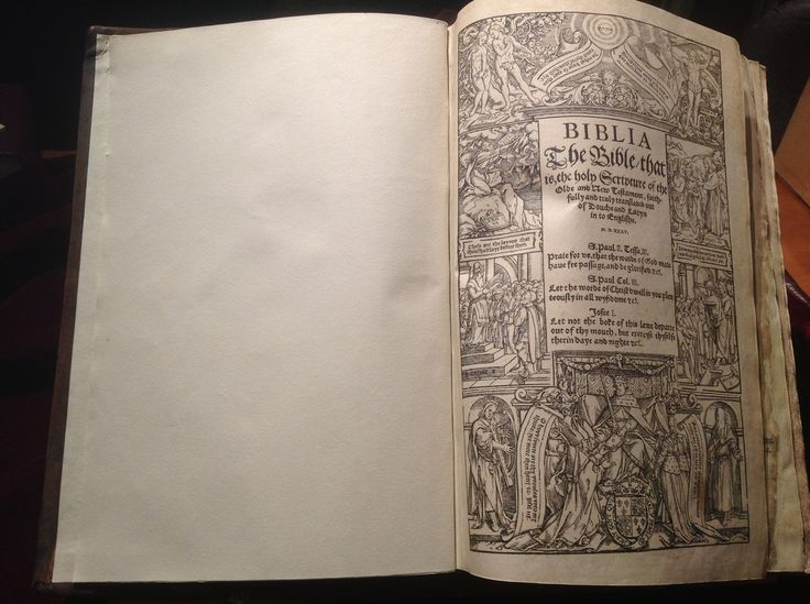 1535 Coverdale Bible - General Title Page