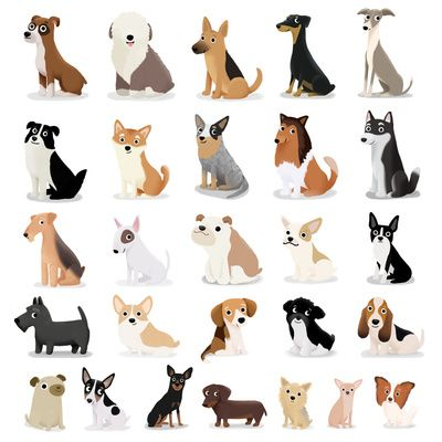 Dog Overload Cute Dog Series Art Print Animal Art Dog