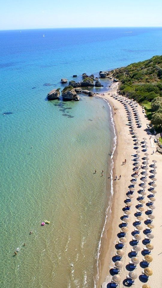 Porto Zoro Beach at Vassilikos, Zakynthos Island, Greece