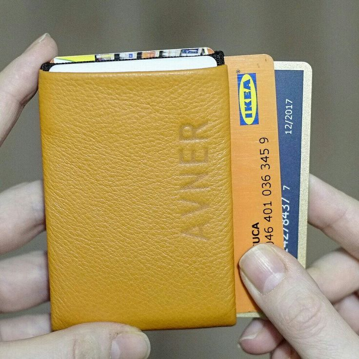 New Generation of Nero Wallets - 30% thinner