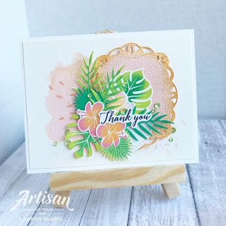 Crafty Little Peach: Tropical Chic Stamp Review Crew Blog Hop