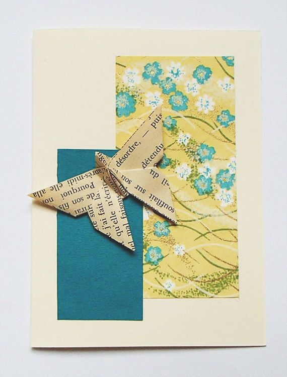 67 best hand made origami cards images on pinterest origami cards origami butterfly greeting card birthday thank you wish card occasion spcial bookmarktalkfo Image collections