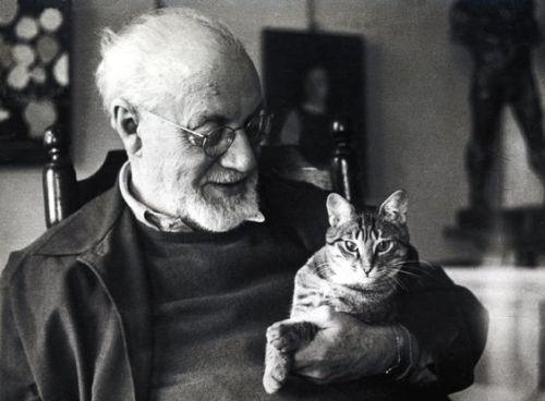 """sentieri-dei-nidi-di-ragno:  """" Henri Matisse, uno dei rari sorrisi.  """""""