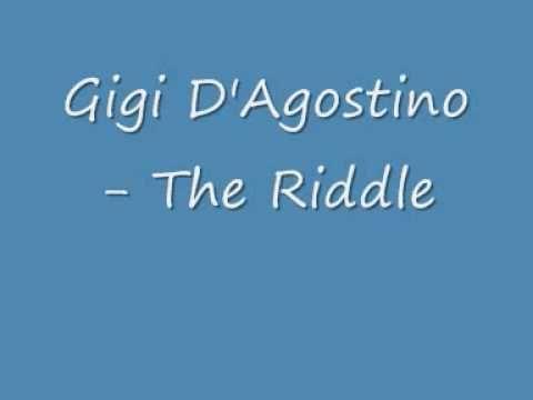 Gigi D'Agostino - The Riddle