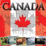 Scrapbook Customs - World Collection - Canada - 12 x 12 Paper