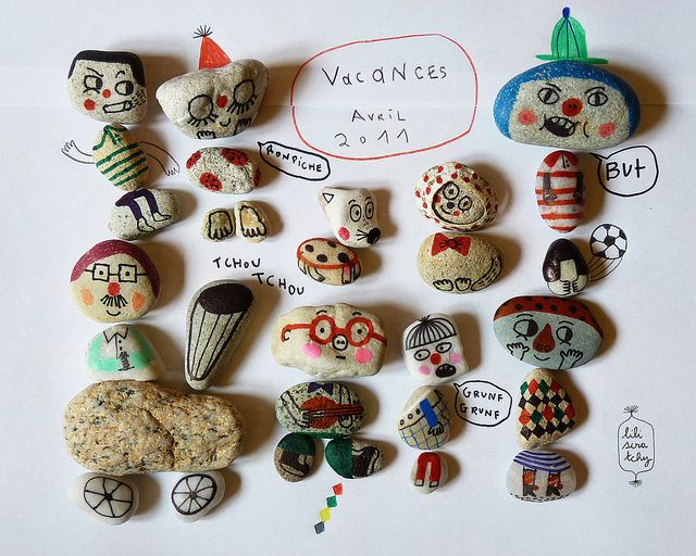 family stones by Lili Scratchy.