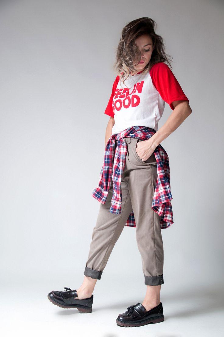 +Remera FEELIIN +Pant BOYFRIEND +Camisa INDIANA