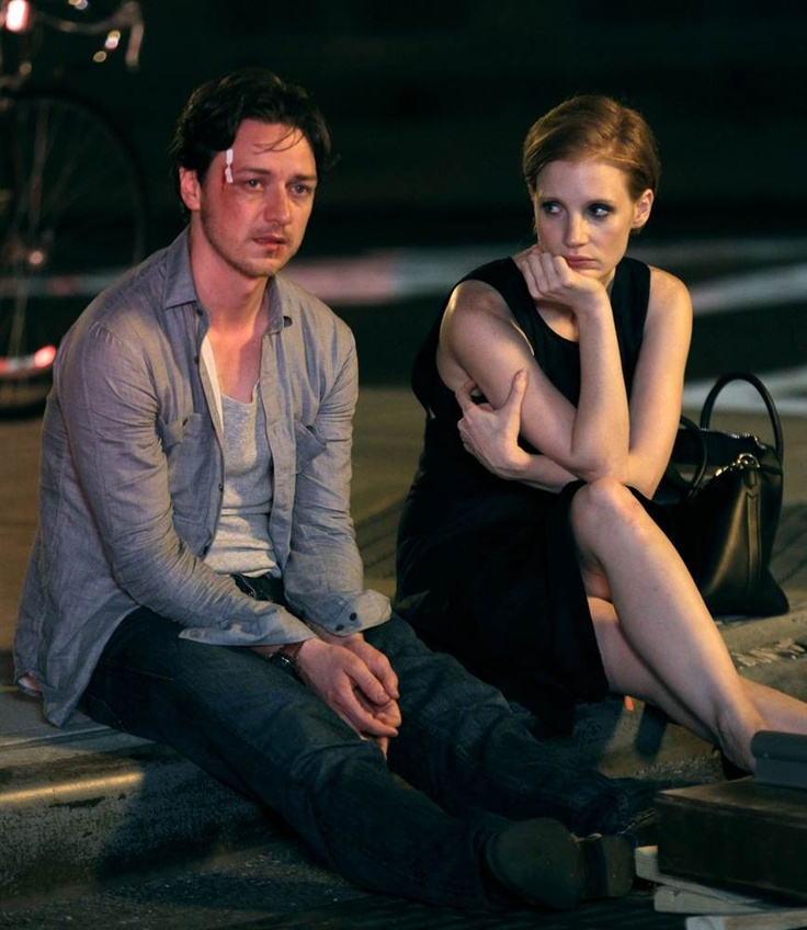 Jessica Chastain, James McAvoy: The Disappearance of Eleanor Rigby