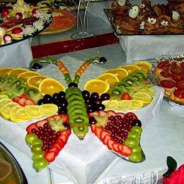 Creative Fruit Butterfly