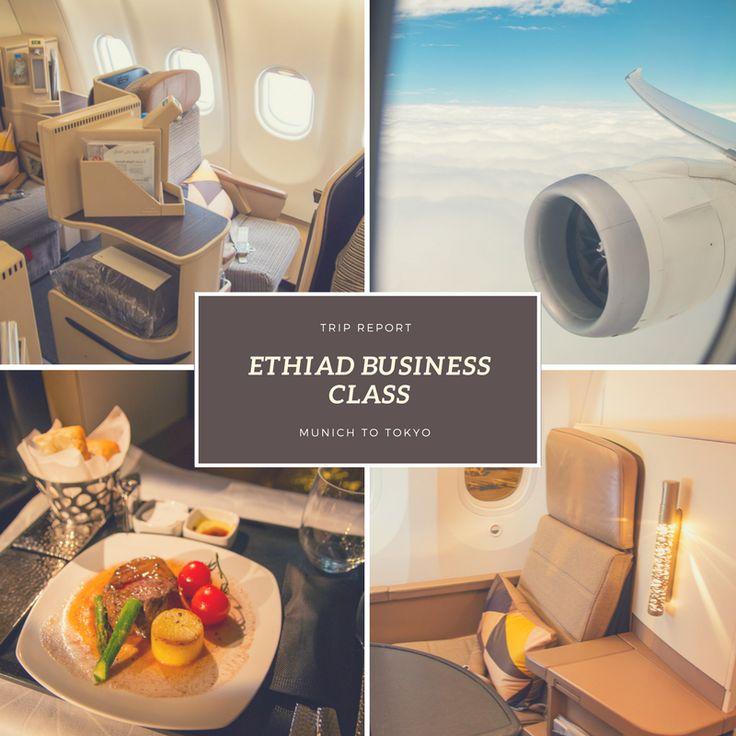 Mit Etihad in Business Class von München über Abu Dhabi nach Tokyo.    Hier gibt es ein paar Infos zum Sitz und Essen im Airbus A330 und Boeing 787-9