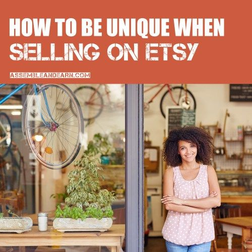 How to be unique on etsy etsy seller unique and etsy for How to sell crafts on etsy