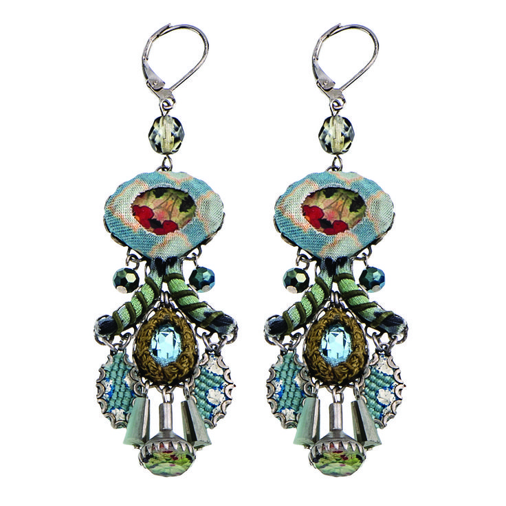 Aqua Coral Earrings | Ayala Bar Hip Collection – Winter 2015/16