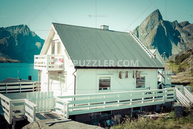 Wooden house in Norway. Nice? #house #norway #stockphoto #royaltyfree