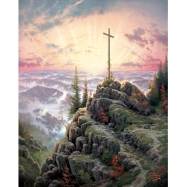 """Thomas Kinkade, """"Artist of Light"""", has died suddenly at the age of 54. 4/6/12  This Easter he will be celebrating with the Risen Savior, The Light of the World, in Heaven."""