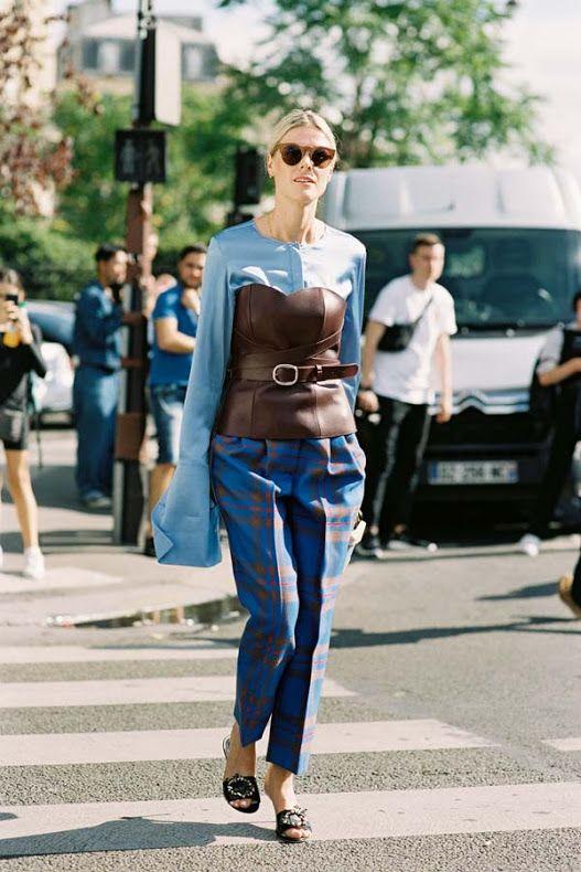 Vanessa Jackman: Paris Fashion Week SS 2017....Sofie