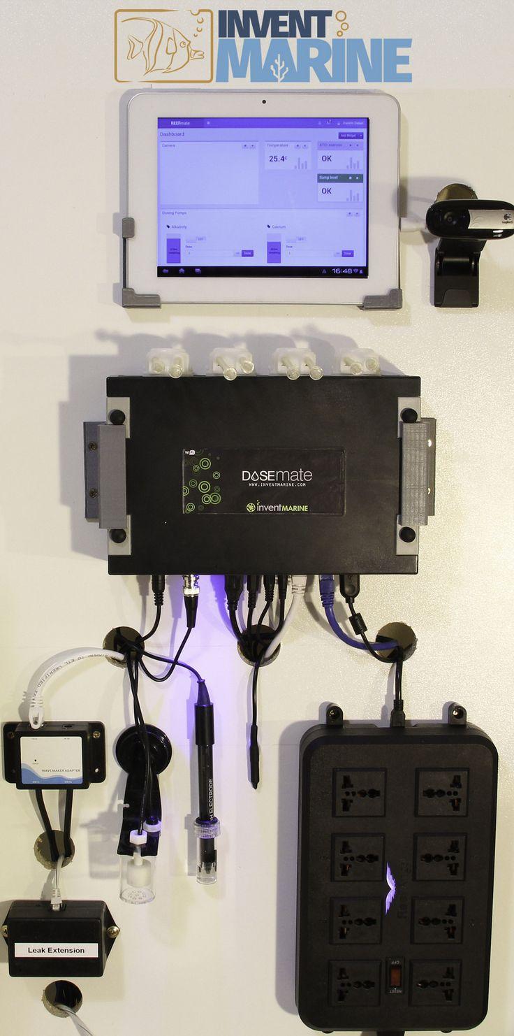DOSEmate Aquarium Dosing  Computer  RaspberryPi based Dosing Computer for Aquariums.