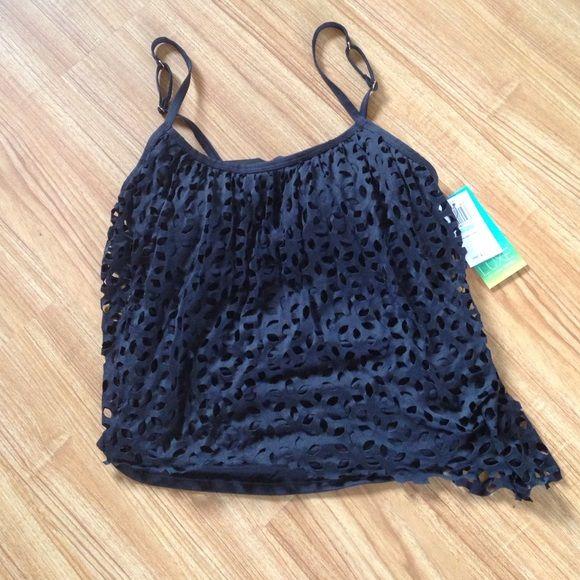 Tankini NWT black size as. Petite 8 make offer  Lisa vogel Swim